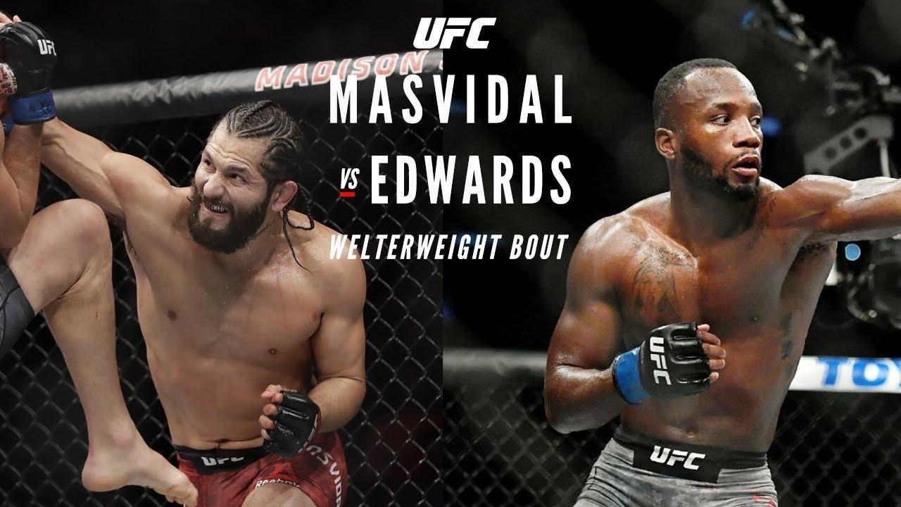 Dana White offers Leon Edwards a fight against Jorge Masvidal