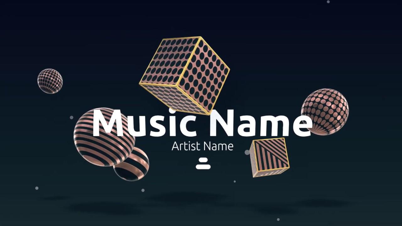 Best Online Music Visualization Maker | Renderforest