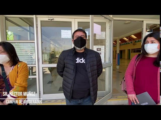 Back to School: Visita Campur General de Apoderados y Fiscalizadora Seremi de Salud Pumahue Chicauma