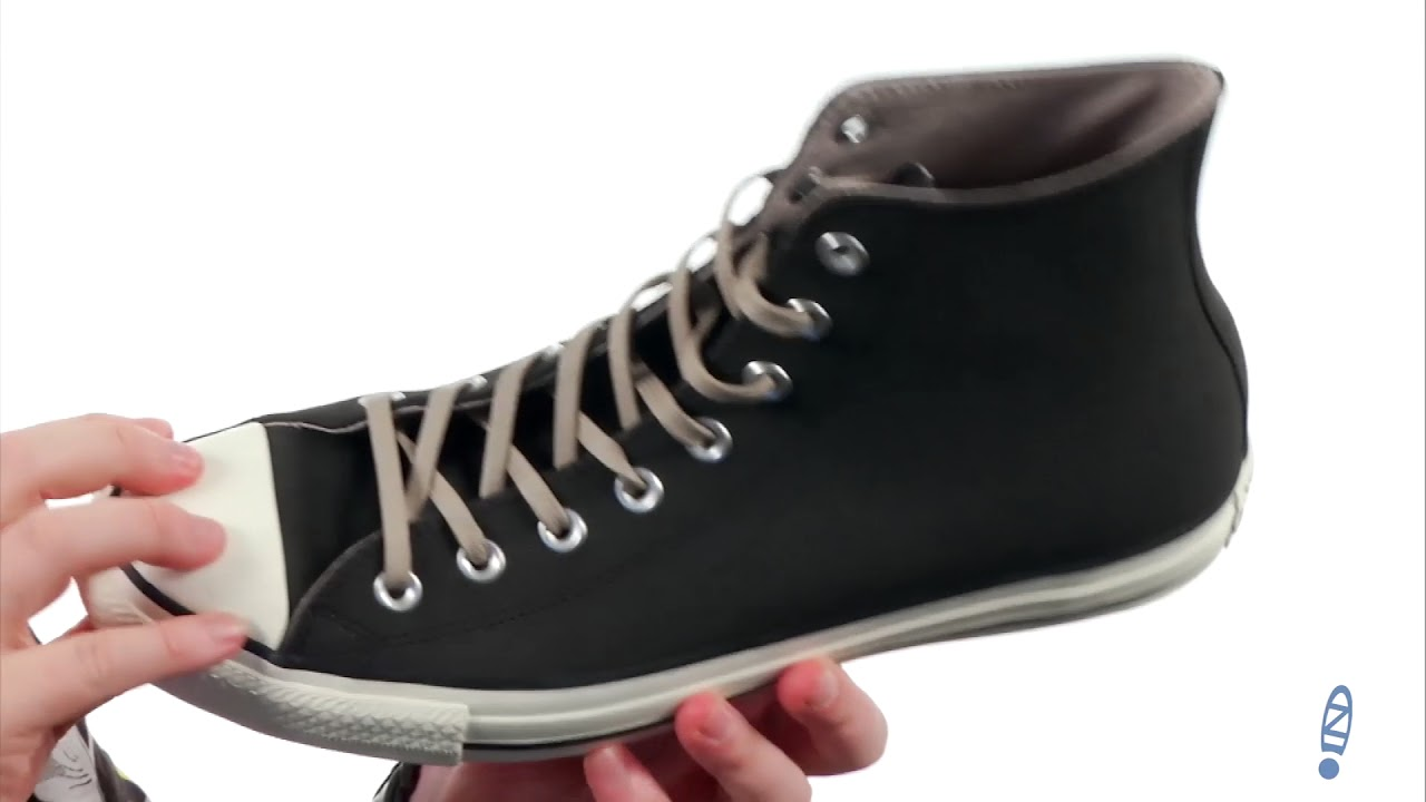 Converse Chuck Taylor All Star Coated Leather Hi SKU: 8910647