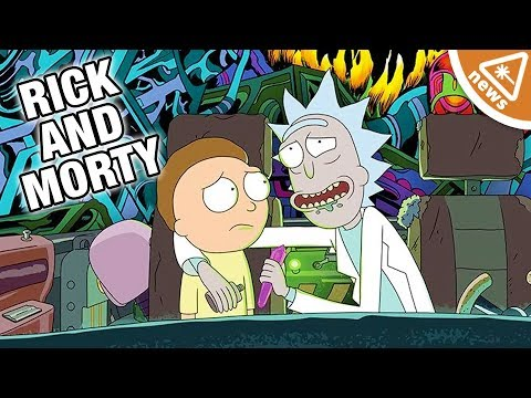 Why the New Rick & Morty Promo Has Us Hyped for Season 4! (Nerdist News w/ Jessica Chobot)