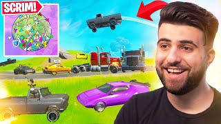 FORTNITE BUT YOU CAN ONLY USE CARS! - Fortnite Season 3