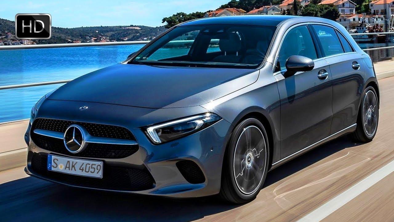 2019 mercedes-benz a-class a180 d progressive hatchback design  u0026 drive hd