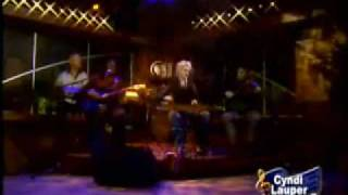Cyndi Lauper - Money Changes Everything  Live  (new)  (Body Acoustic) 2005