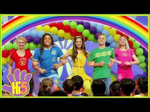 Living In A Rainbow | Hi-5 - Season 17 | Song of the Week | Kids Songs