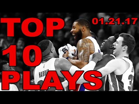 Veja o video – Top 10 NBA Plays of the Night | 01.21.17