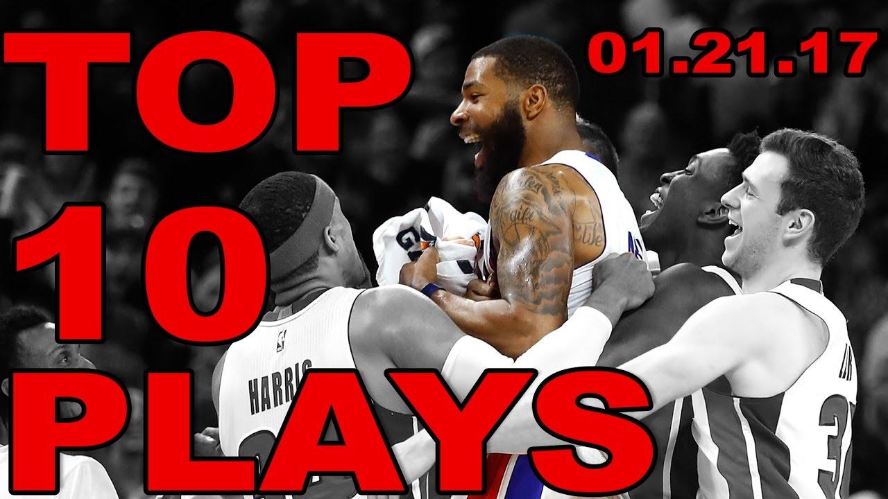 Top 10 NBA Plays of the Night  addc5f556
