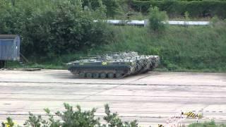 Czołgi w porcie gdańskim - Tanks in port of Gdansk