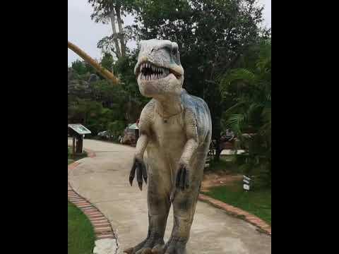 Dinosaur Park Dannok Sadao Songkhla Thailand