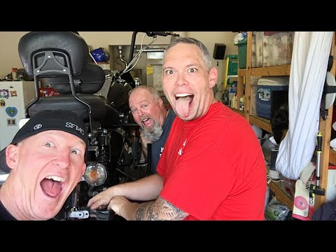 Changing Your Own Harley Tire In Your Garage-DIY