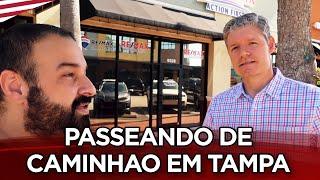 PASSEANDO DE CAMINHAO E BATENDO PAPO EM TAMPA