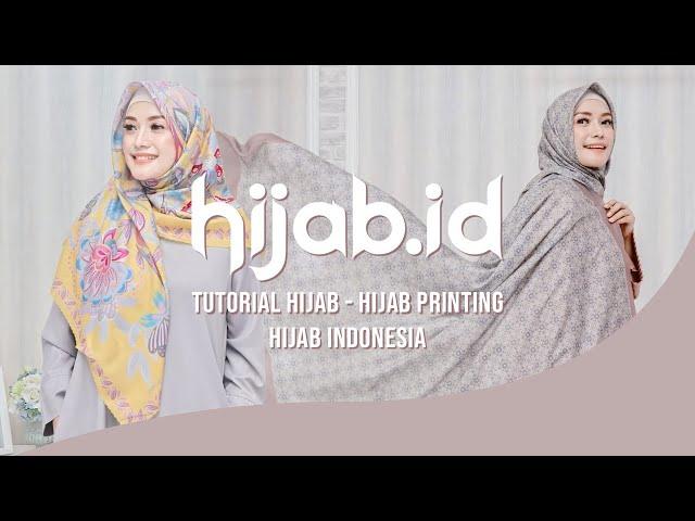 Tutorial Hijab - Hijab Printing - Hijab Modern - Hijab Indonesia - Lina Kartika