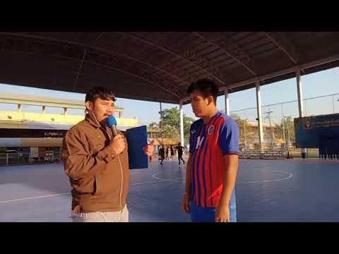 บรรยากาศการฝึกซ้อมทีมกีฬาฟุตซอลโรงเรียนกีฬาจังหวัดอ่างทอง ep.2