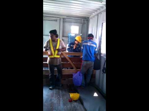 Goyang sate badak vs dancok PT PMA GRUP