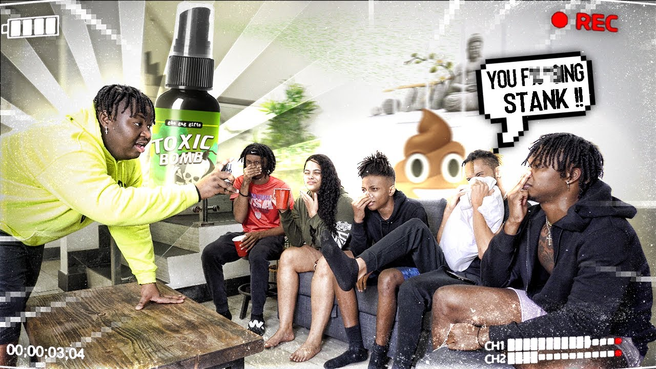 Ultimate FART Spray Prank EXTREMELY FUNNY 😭💀