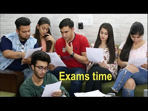 Types of Students during Exams - | Lalit Shokeen Films |