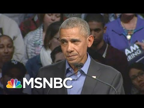 Former President Barack Obama: Can't Govern People If You Win By Dividing Them | All In | MSNBC