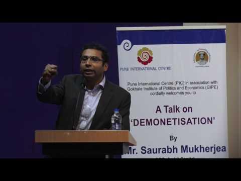 PIC : A Talk on Demonetisation.