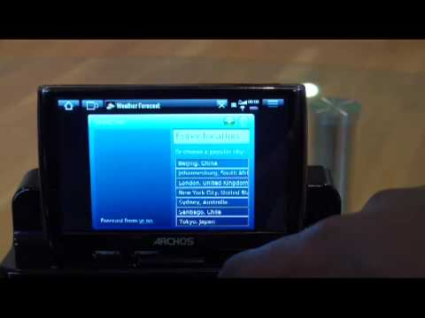 Archos 5 Widgets Review does this make life easier?