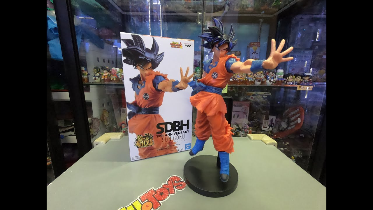 SDBH Super Dragon Ball Heroes 10th Anniversary figure Goku Ultra Instinct Sign