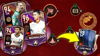 96 OVR Lunar New Year Ronaldo in FIFA Mobile 20 - LNY Is here!!