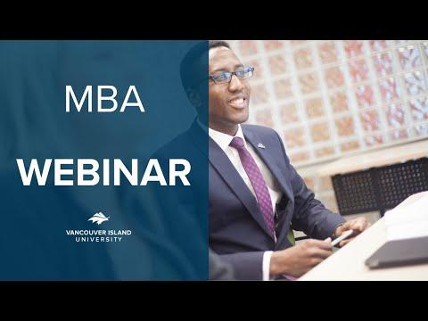 MBA Meet The Faculty Webinar - VIU