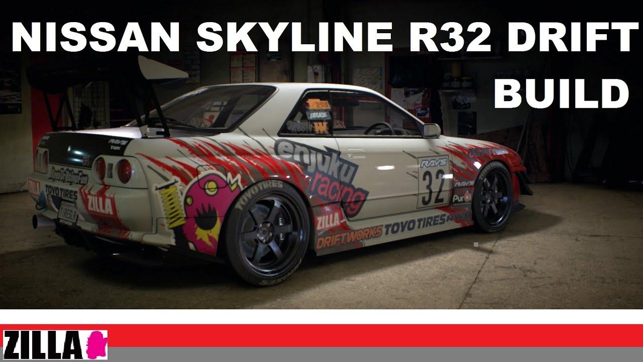 Need For Speed Drift Build Nissan Skyline Gtr Youtube