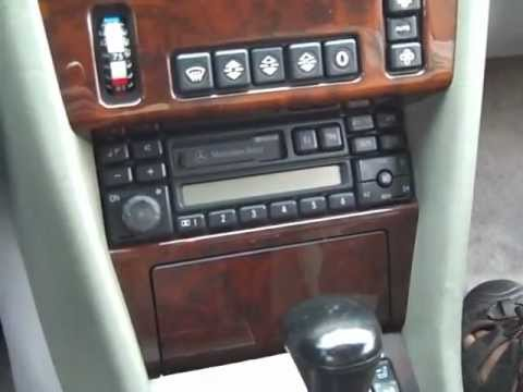 Mercedes Benz Car Stereo Removal and Repair 1994-1999 - YouTube