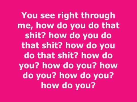 Nicki Minaj  Right Thru Me W Lyrics On Screen