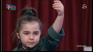 От маленькой Азербайджанской девочки поддержка солдатам