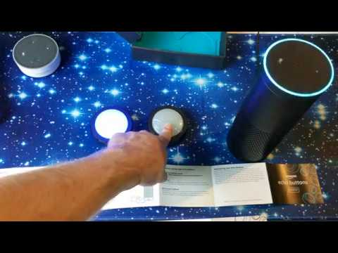 Amazon Alexa Echo Buttons UNBOXING & How To Setup Echo Buttons pairing with Alexa speaker