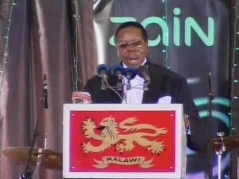 TV Malawi Awards: Dr Bingu wa Mutharika's speech, president of Malawi