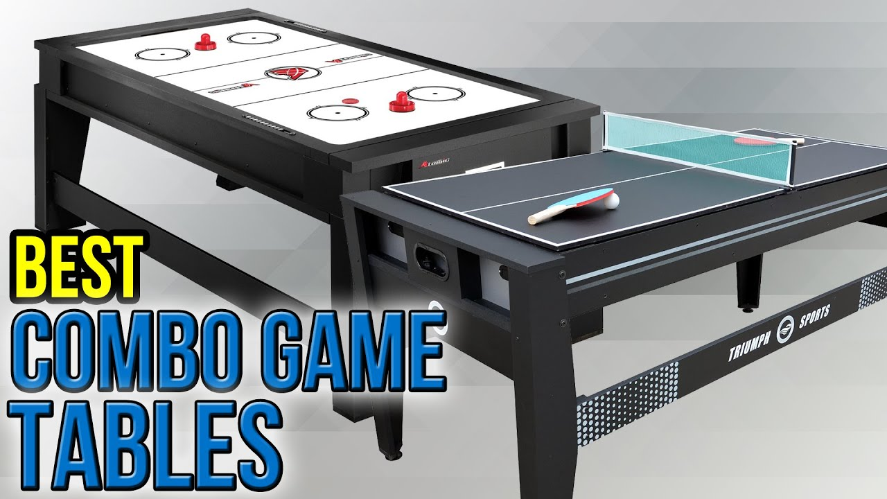 Attirant 7 Best Combo Game Tables 2017