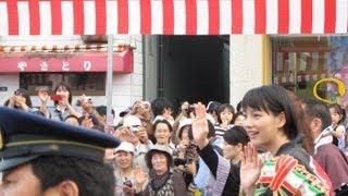 20130920 たまたま仕事で久慈を訪れた際に、久慈秋祭りが開催されていて...