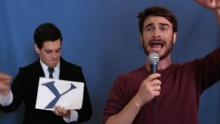 Gambar cover Daniel Radcliffe Raps About Harry Potter [Applecomedy]