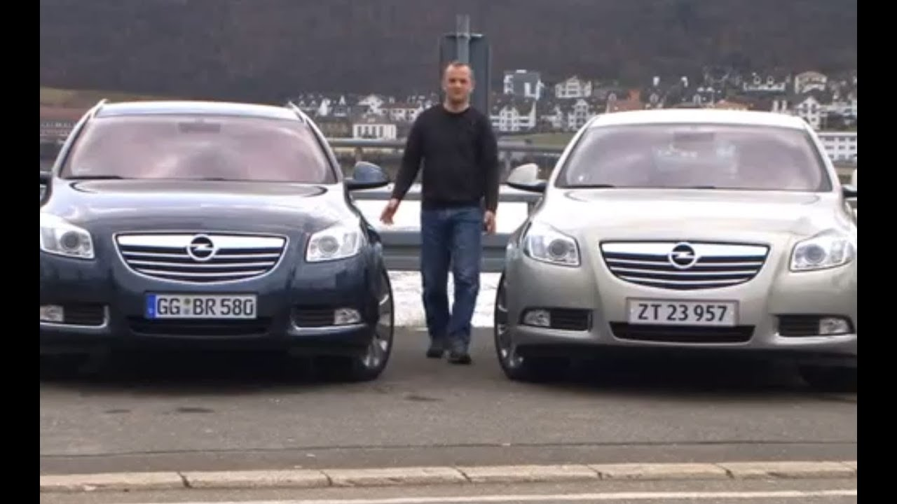 opel insignia 2009 test ny sports tourer youtube. Black Bedroom Furniture Sets. Home Design Ideas