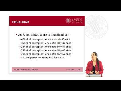 TRIBUTACIÓN DE LOS PLANES INDIVIDUALES DE AHORRO SISTEMÁTICO (PIAS) EN EL IRPF      UPV