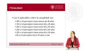 TRIBUTACIÓN DE LOS PLANES INDIVIDUALES DE AHORRO SISTEMÁTICO (PIAS) EN EL IRPF |  | UPV