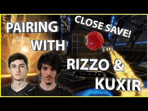 Getting Paired with Kuxir97 and Rizzo in Solo Queue! High Ranked Pro 2v2 Gameplay
