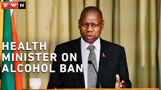 Health Minister Zweli Mkhize addressed the return of the alcohol ban under level 3 of lockdown, in a briefing following President Cyril Ramaphosa's address to the nation on lockdown amendments.