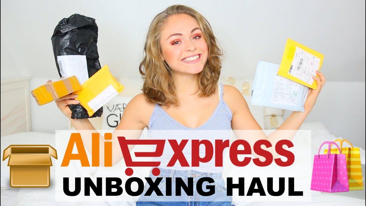 ALIEXPRESS UNBOXING HAUL