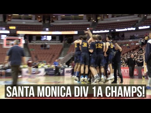 Santa Monica (66) Defeats Temecula Valley (60) To Win CIF-SS Div 1A Title!