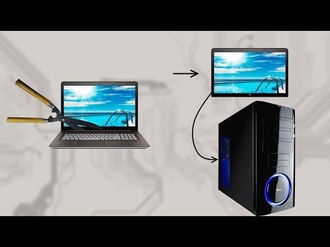 Как подключить матрицу от ноутбука к компьютеру
