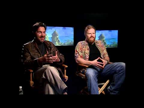 Atlantis The Lost Empire: Kirk Wise and Gary Trousdale Exclusive  Part 1 of 2