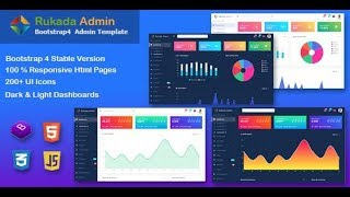 Rukada Dashboard Admin Template Free Download