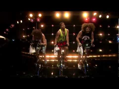 The Spin Class Song' with Jimmy Fallon & LMFAO