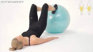 Мяч гимнастический массажный