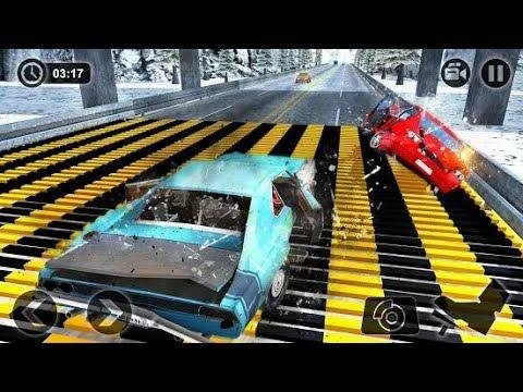 Speed Bump Car Crash Simulator: Beam Damage - Android Gameplay ...
