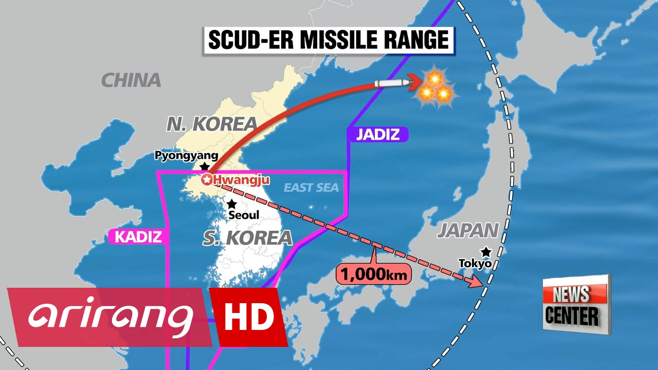N Koreas ScudER Missiles Could Threaten Japan Expert YouTube - Japan map missile