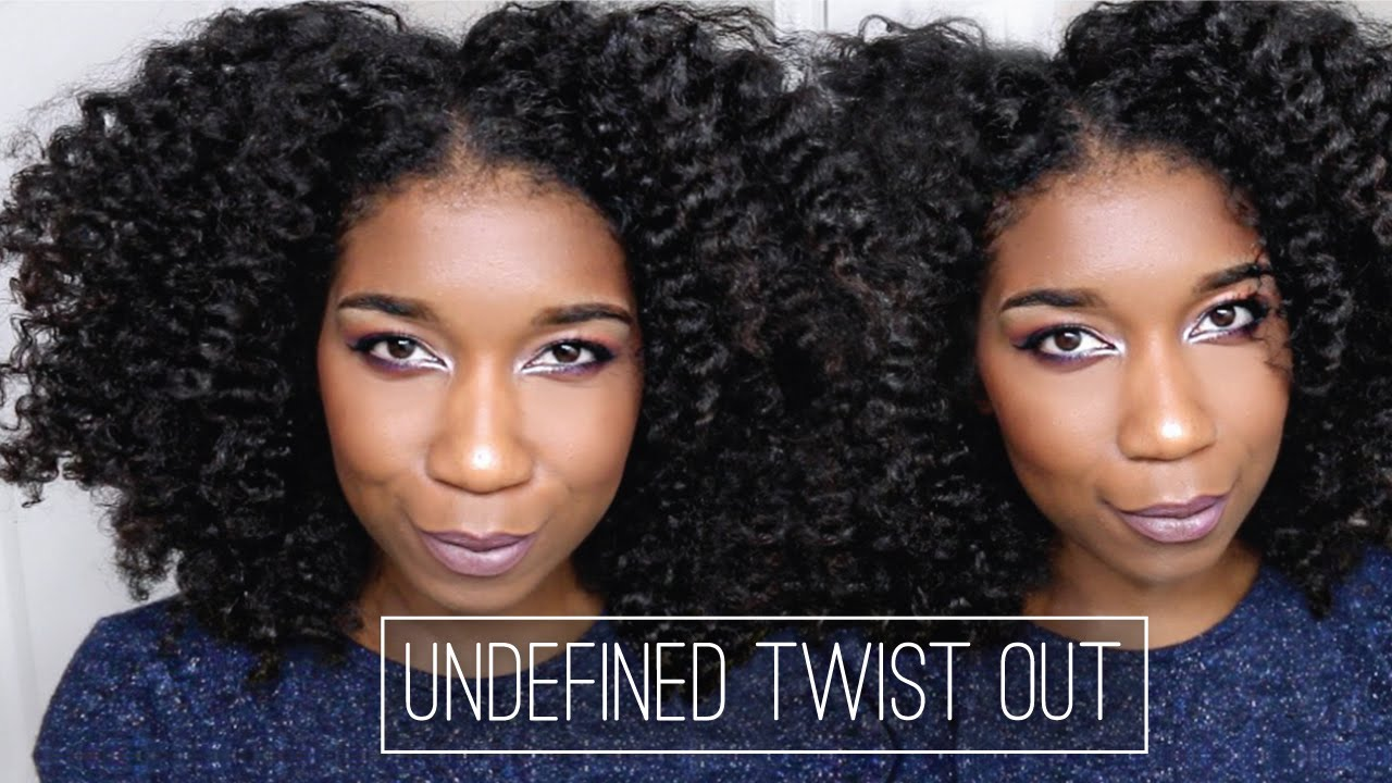 Fluffy UNDEFINED Twist Out + Refresher